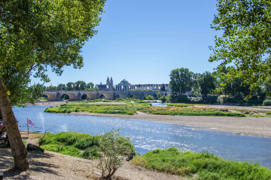 Au fil de la Loire à vélo entre Tours et Saumur