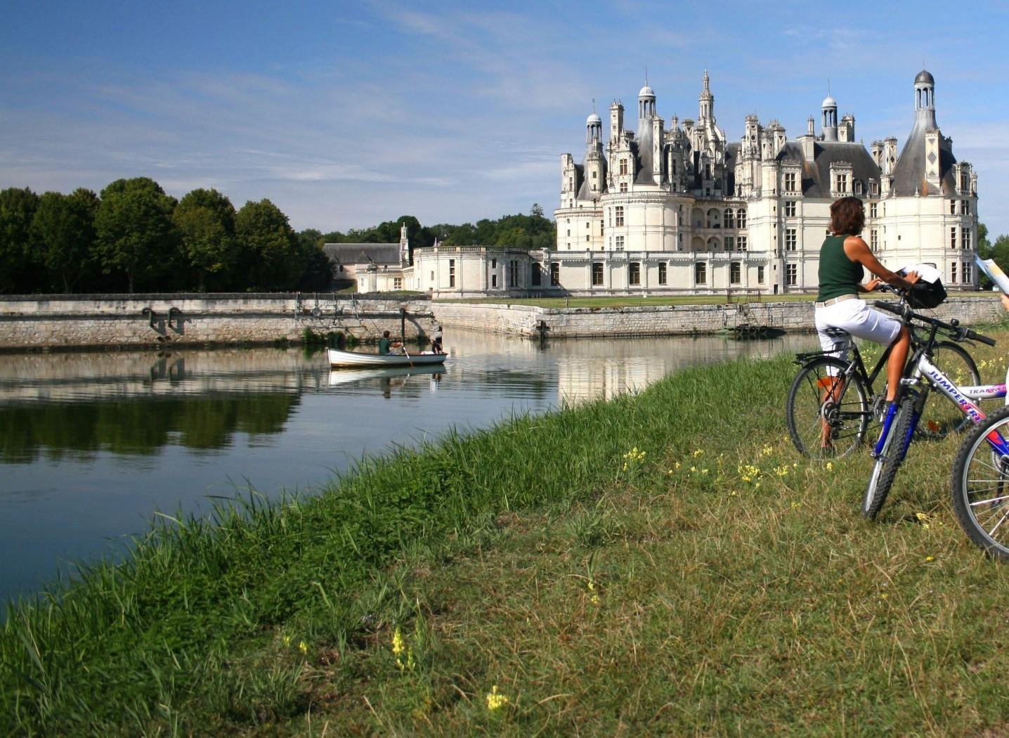 8 jours à vélo entre Chambord et Chenonceau