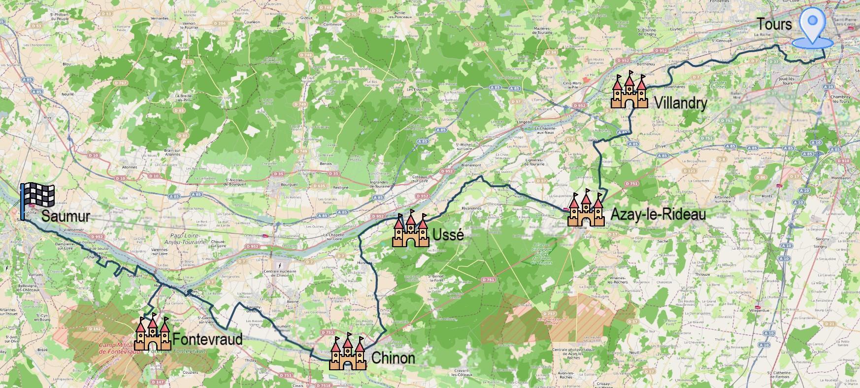 5 jours entre Loire et Vienne