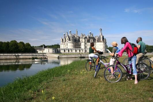 Itinérance à vélo Blois – Amboise via Chambord et Chenonceau