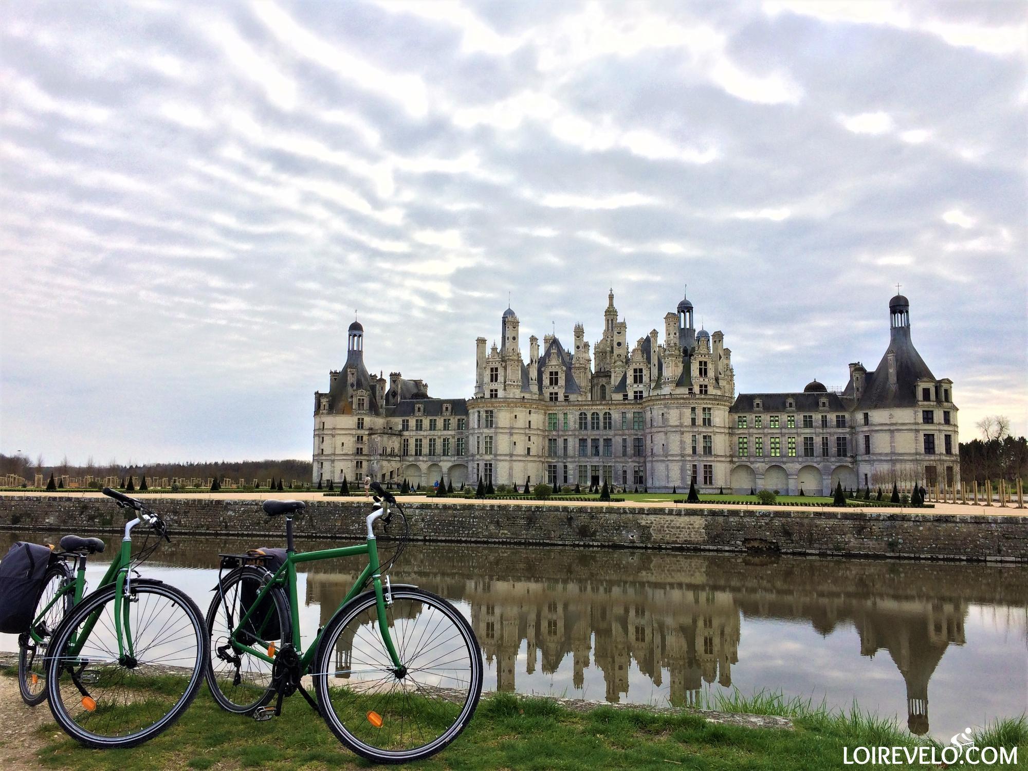 Itinérance à vélo Blois-Chambord-Cheverny-Chaumont