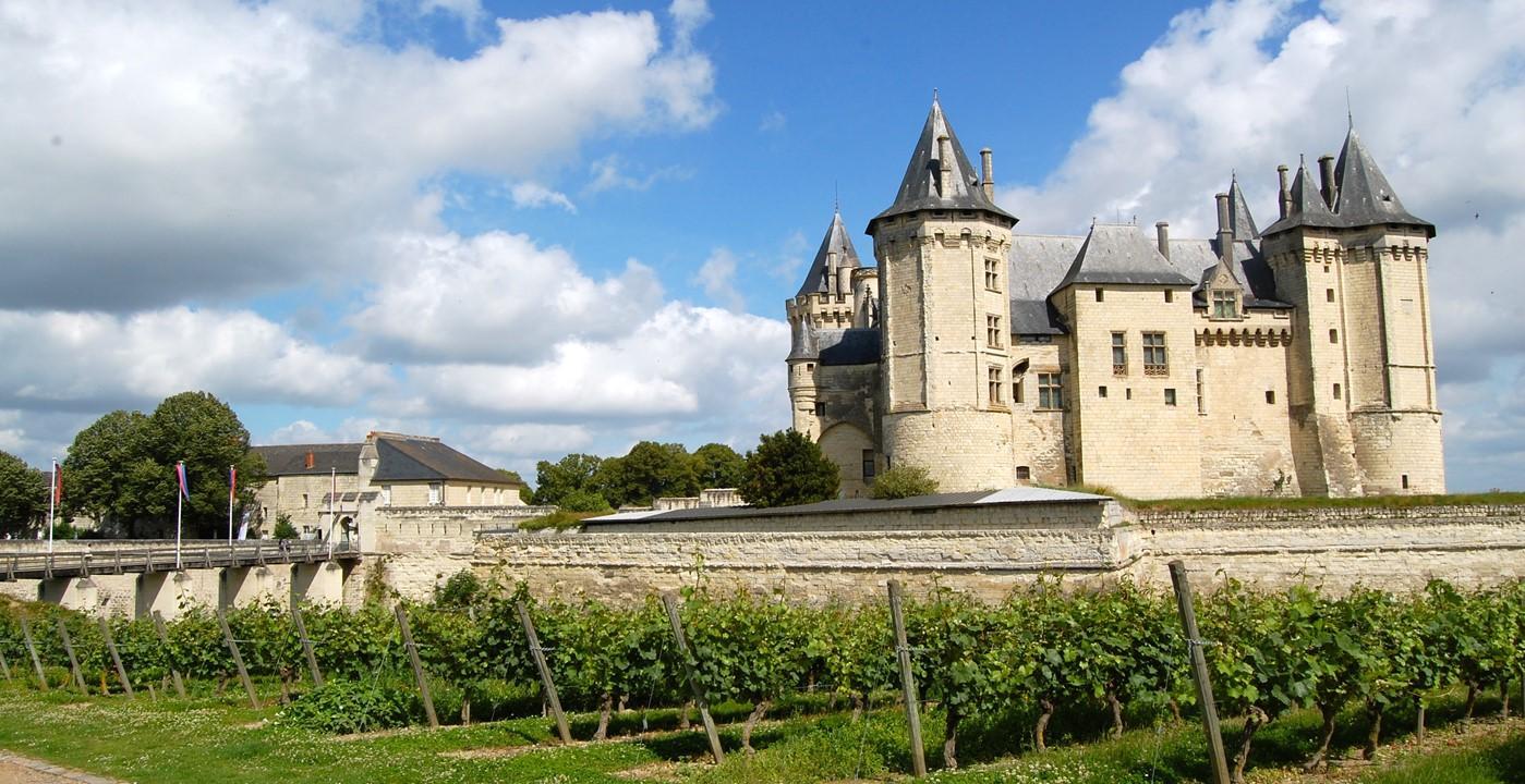 Châteaux de la Loire à vélo de Blois à Saumur
